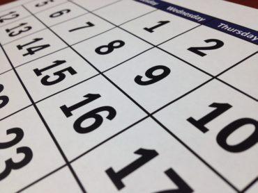 Kalendarium vecka 22