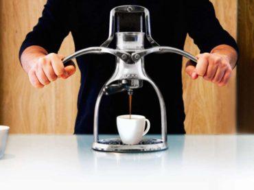 Manuellt kaffe