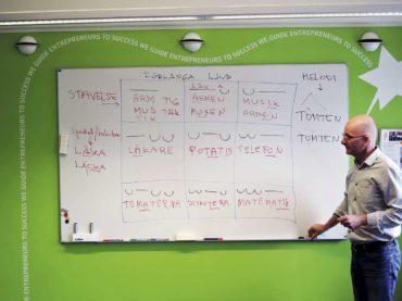 Utbildar nysvenskar i uttal