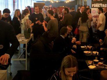 Fullsatt premiär av StartUp Bar Linköping