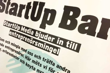 Missa inte StartUp Bar Borås i morgon